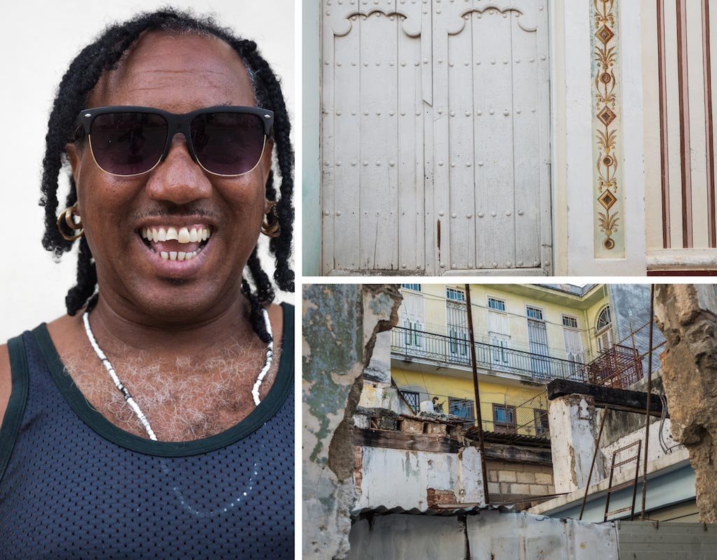 2. Happiest Cuban, doors in Trinidad and decrepit buildings, Cuba