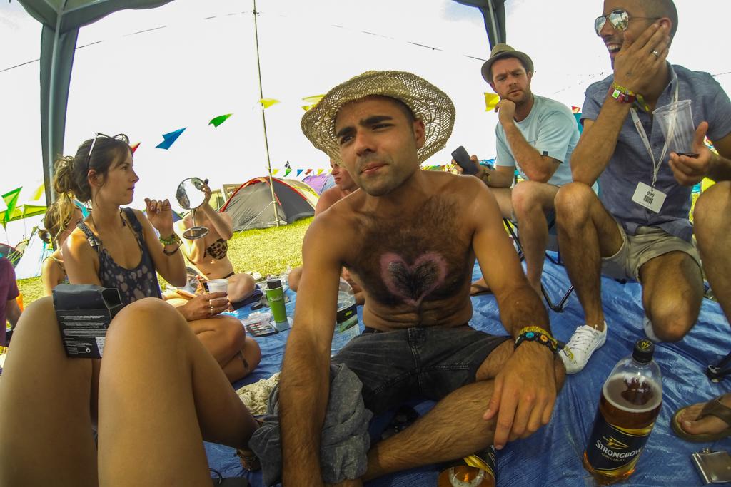 Secret Garden Party 2014 - Our Campsite