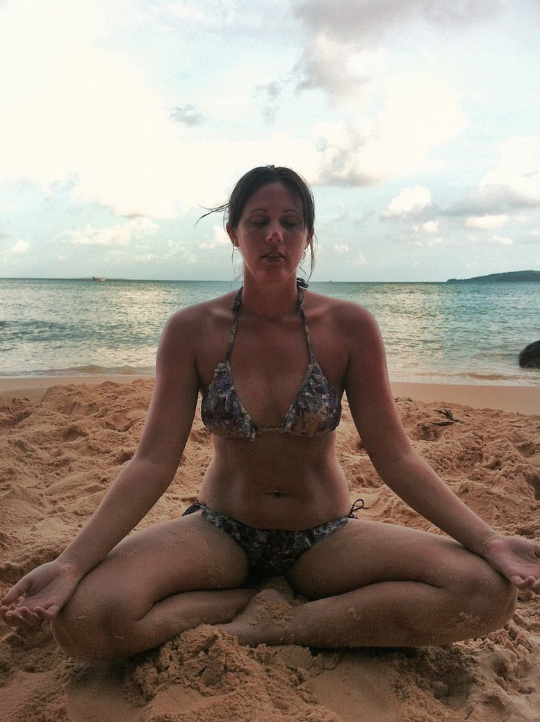 Meditation on Koh Rong in Cambodia