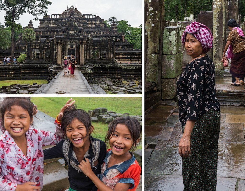 19. Angkor Thom people