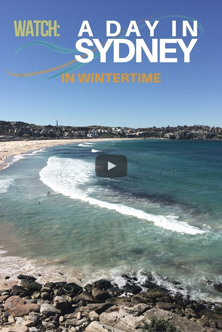 A Day in Sydney in the Winter - Castaway wth Crystal