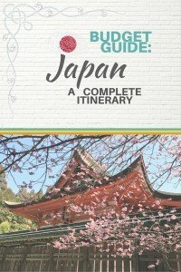 Budget Guide Japan A complete itinereary - Castaway with Crystal