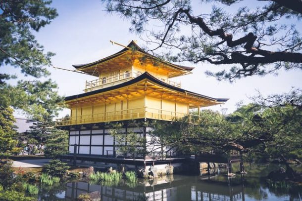 Golden Pavillion Kyoto - Japan Itinerary 14 days and 7 days