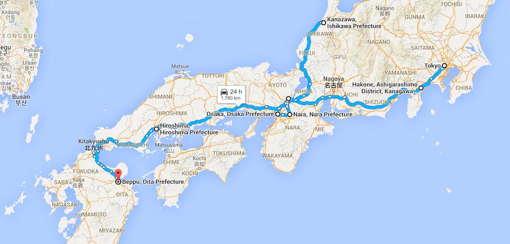 Japan Map 1