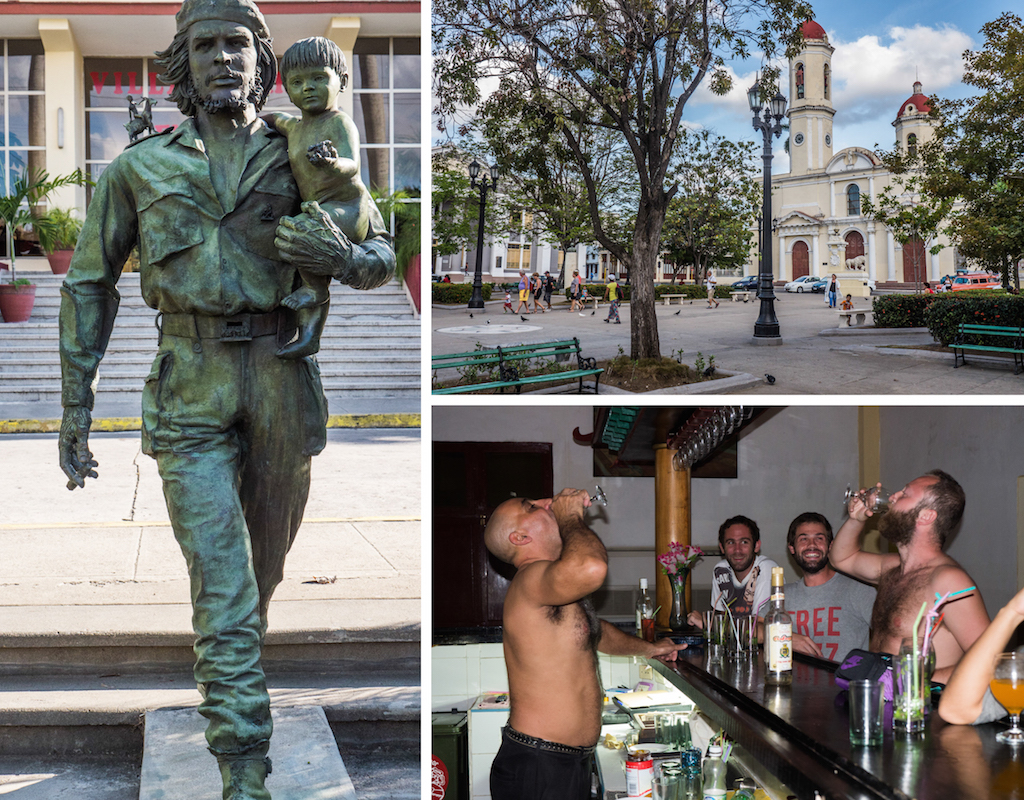 6. Cienfuegos Santa Clara Che statue, pplaza. Things to do in Cuba, how to do Cuba on a Budget, one month itinerary for Cuba