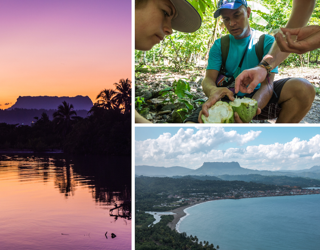 9. Baracoa, trekking, sunset, tabletop mounain, cocao. Things to do in Cuba, how to do Cuba on a Budget, one month itinerary for Cuba