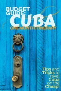 One Month in Cuba by Castaway with Crystal