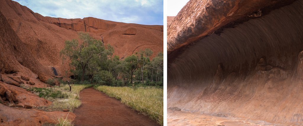 16. Ayres rock Uluru different angles