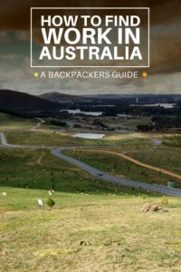 How to Find Work in Australia - Castaway with Crystal
