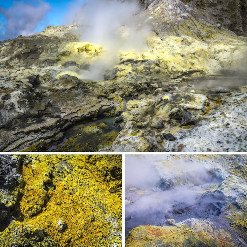 Photoblog: The active volcanoes of White Island, New Zealand up close and burning my face off!