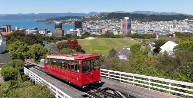 Wellington light rail - North Island New Zealand Road Trip | New Zealand North Island Itinerary | must see | Attractions | Things to do in NZ | Tours | Points of interest | What to see | Highlights | Places to see | Budget Guide | Fun things | Camper van | Motorhome
