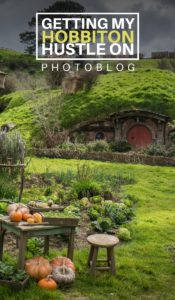 Photoblog: Getting my Hobbiton hustle-on - Castaway with Crystal
