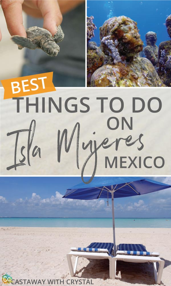 The BEST Things to do on Isla Mujeres, Mexico | What to do in Isla Mujeres? | Diving Isla Mujeres | Punta Sur Isla Mujeres | Island of women | Isla Mujeres map #Isla #Mujeres #diving #turtles #best #things #Caribbean #Mexico