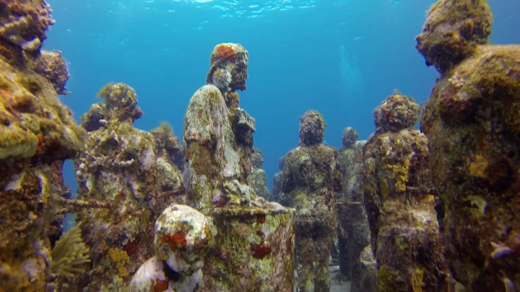 Diving at Museo from Isla Mujeres