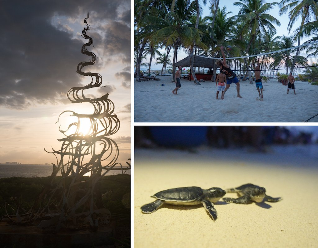 The Yucatan Peninsula: Cancun, Isla Holbox and Playa Del Carmen