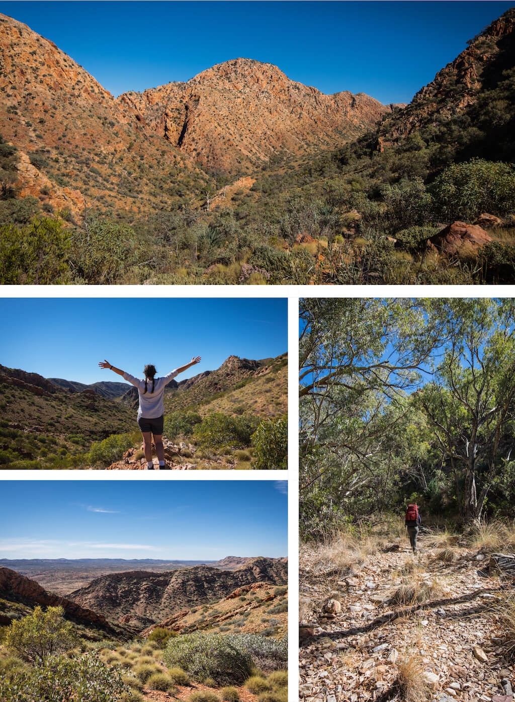 Standley Chasm surrounds - Beautiful photography taken while trekking the Larapinta Trail in Central Australia