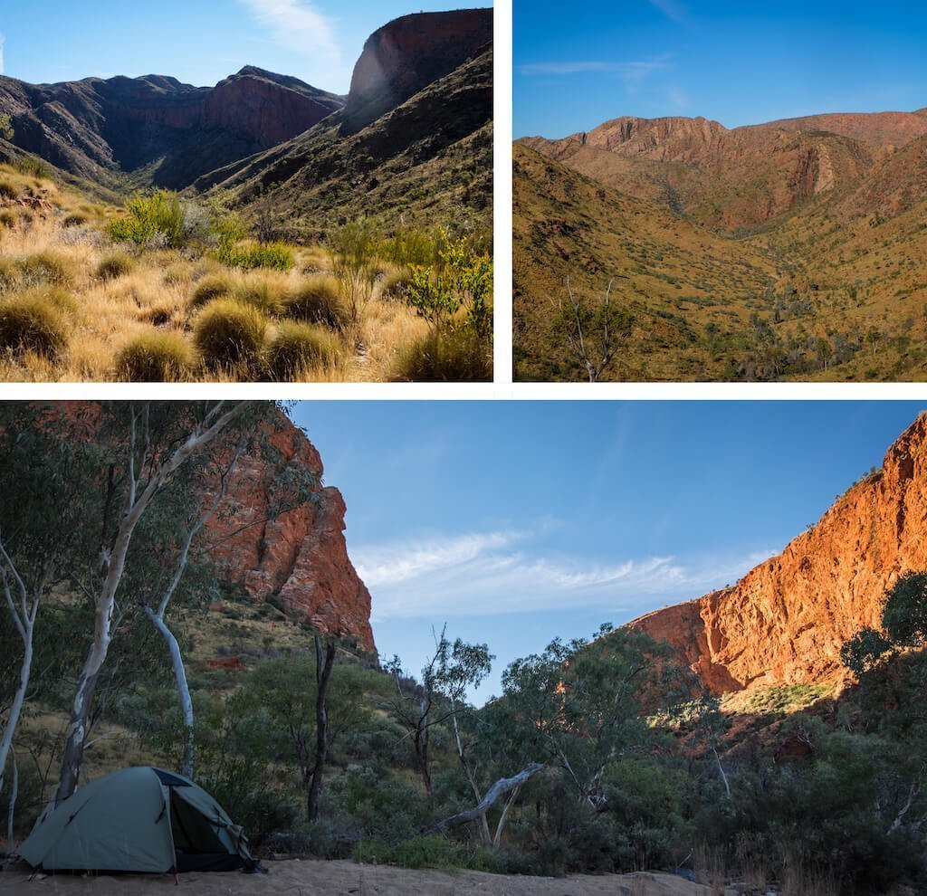 Hugh Gorge Saddle - Beautiful photography taken while trekking the Larapinta Trail in Central Australia