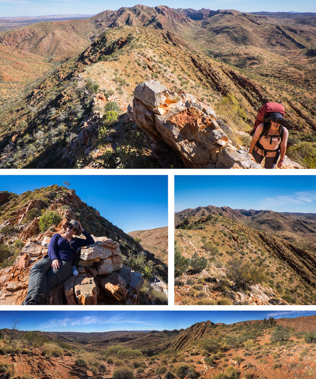 Razorback Ridge - Beautiful photography taken while trekking the Larapinta Trail in Central Australia