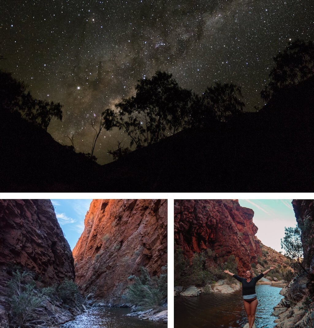 Hugh Gorge - Beautiful photography taken while trekking the Larapinta Trail in Central Australia
