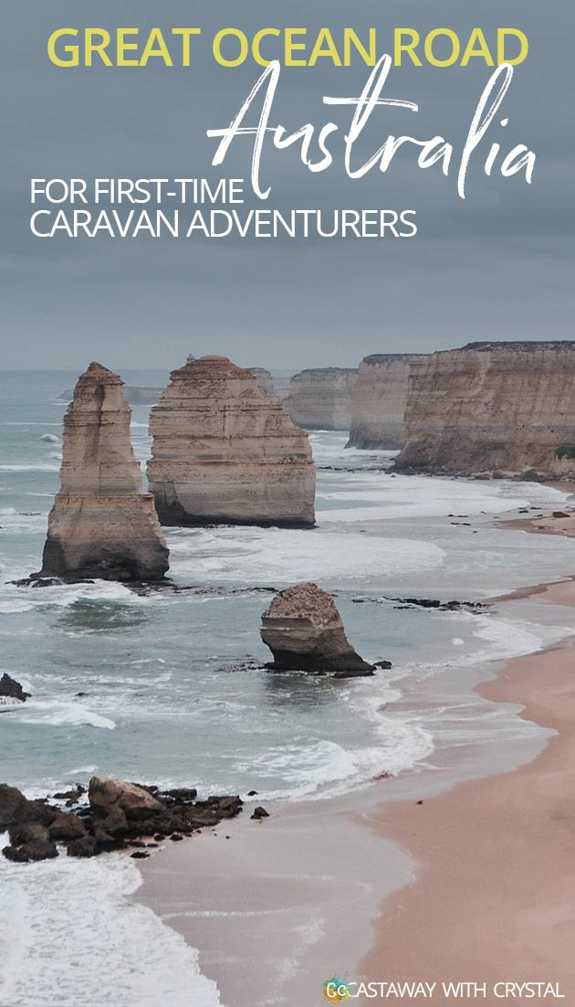 Do you want to see the Twelve Apostles? | Travel the Great Ocean Road by caravan | Melbourne to Adelaide | World's most scenic drives | Drive in Australia by caravan | #Australia #vanlife