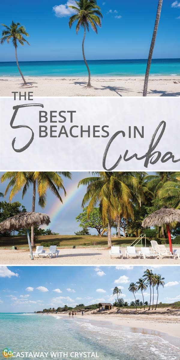 5 of the best beaches in Cuba | Amazing beaches in Cuba that you must visit | 5 beaches to see while you are in Cuba | Cuba's most popular beaches | Have you been to any of these beautiful Cuban beaches? #Cuba #Beaches