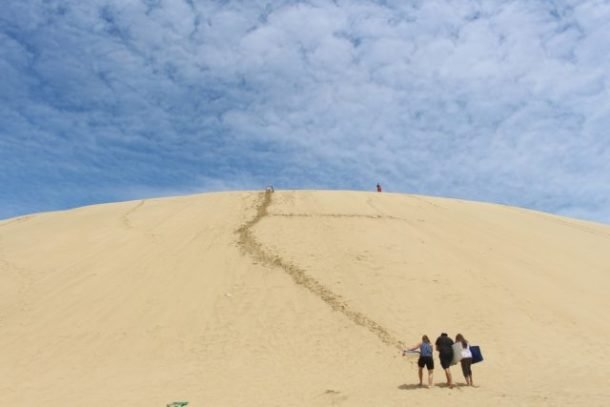 Te Paki sand dunes for Free Things to do in North Island, New Zealand