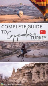 Things to do in Cappadocia, Turkey | Looking for things to do in Cappadocia? Check out this complete guide featuring all adventurous activities, best hiking trails and how to get a balloon ride for cheap! #Cappadocia #HotAirBalloons #Goreme