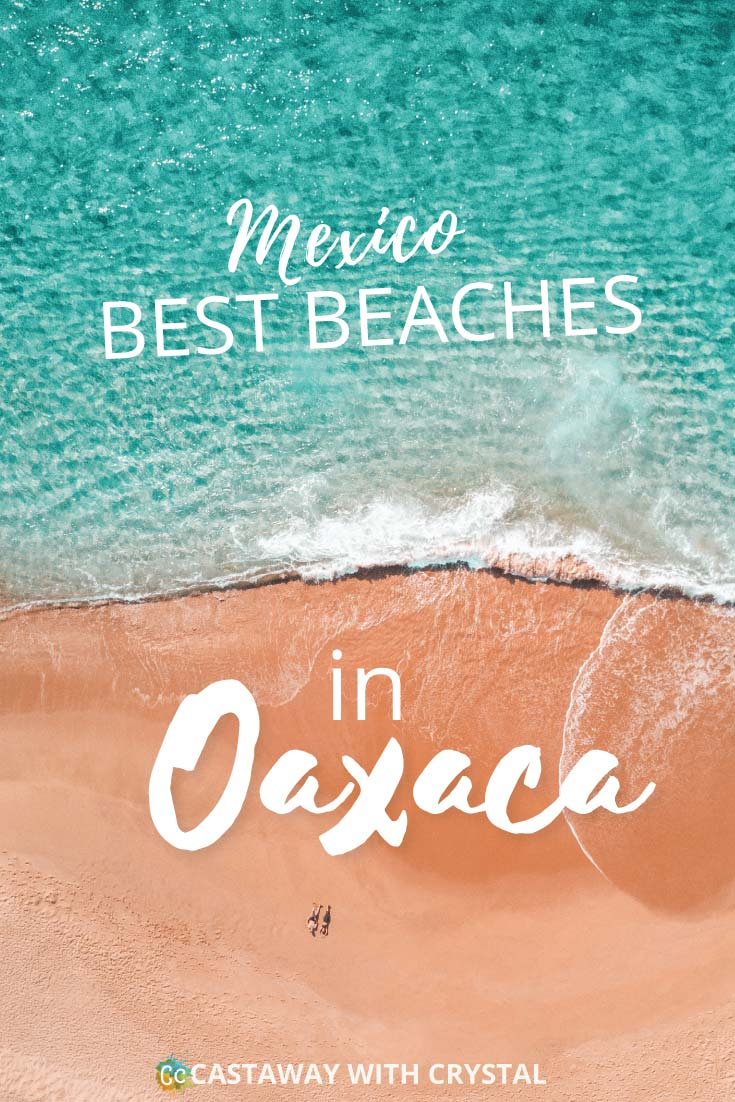 Want to visit the best beaches in Oaxaca, Mexico? Oaxaca is an almost undiscovered paradise. Stretch out on a beach all to yourself, or try your hand at surfing | Includes an Oaxaca Mexico Map to download into your phone! | Huatulco beaches | Puerto Escondido Beaches | Costa Oaxaca | Oaxaca surf | #Oaxaca #Mazunte #Zipolite #Mexico #Escondido #surf