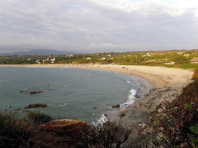 La Punta Zicatela - one of the top 10 best beaches in Oaxaca