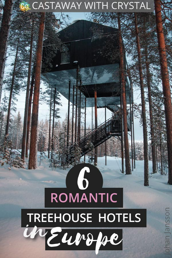 Dreaming of a treehouse holiday in Europe? Want to get in touch with your childlike wonder again? This is a seriously impressive list of the most romantic treehouse hotels in Europe to help you plan your next getaway #Treehouse #Hotel