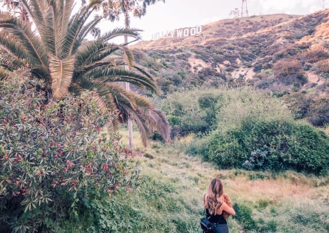 Hollywood sign LA -