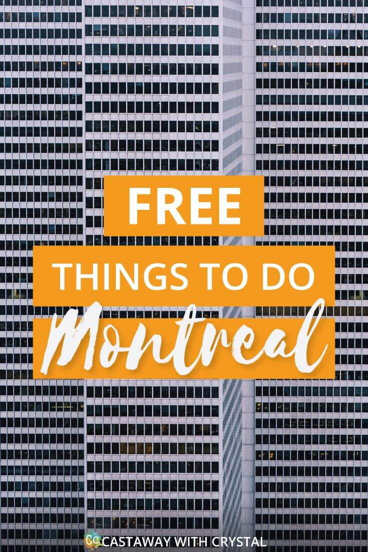 Amazingly Free things to do in Montreal, Canada | Want to do something different? Need to save money? Try out these free things you can do in Montreal | Not just Montreal Museums, but also light shows, street art and incredible churches! #Free #ThingsToDo #Montreal #Canada #downtown #museums #churches #Port #travel #food