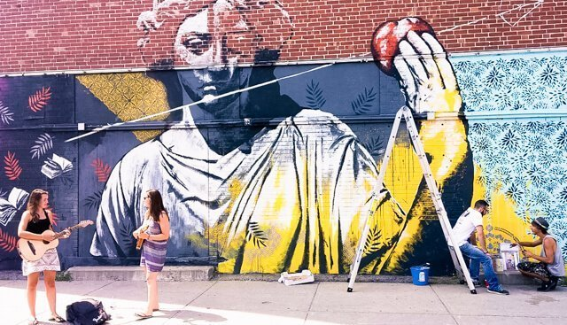 Mural Art - Free things to do in Montreal