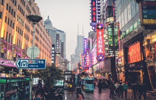 East Nanjing Pedestrian street - Free things to do in Shanghai, China