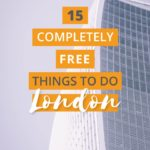 15 Super Fun Free things to do in London to keep you entertained! Want to do something unique? Need to save money? Try out these free attractions you can do in London, United Kingdom | Try out one of the many museums or go on a self-guided walking tour around the city!#Free#ThingsToDo#London#UK #museum #CwC #attractions #unique #fun #England #cities