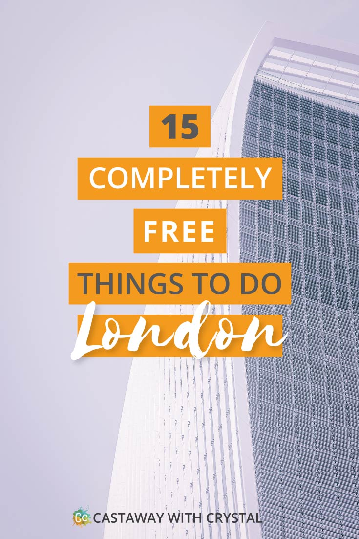 15 Super Fun Free things to do in London to keep you entertained! Want to do something unique? Need to save money? Try out these free attractions you can do in London, United Kingdom | Try out one of the many museums or go on a self-guided walking tour around the city! #Free #ThingsToDo #London #UK #museum #CwC #attractions #unique #fun #England #cities