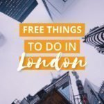 Free Things to do in London UK - Castaway with Crystal