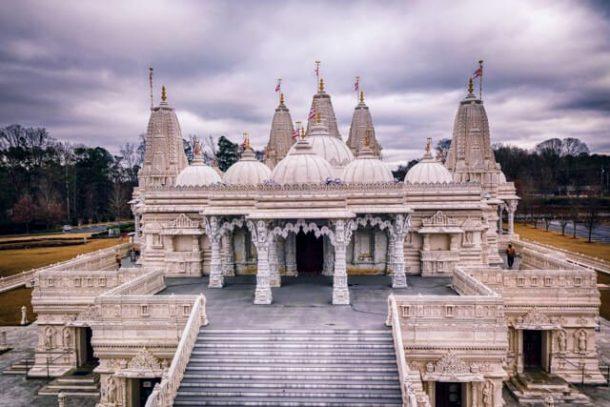 BAPS Shri Swaminarayan Mandir for Free things to do in Atlanta USA