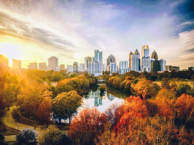 Free things to do in Atlanta USA - Piedmont Park