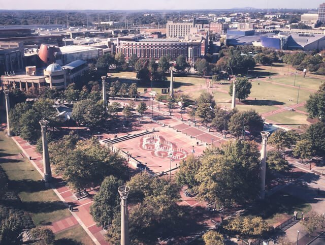 Free things to do in Atlanta USA - Centennial Olympic Park
