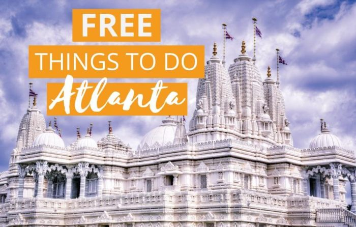 Free things to do in Atlanta GA