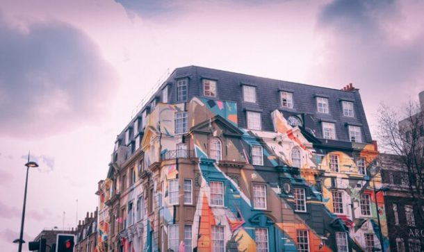 Graffiti in Shoreditch - Free Things to do in London UK