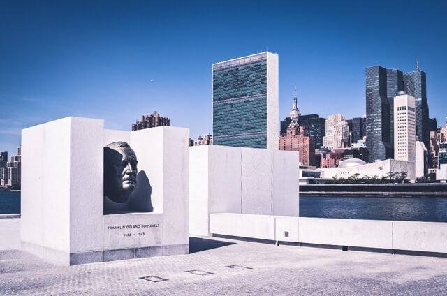 FDR Four Freedoms Park on Roosevelt Island - Free Things to do in New York City