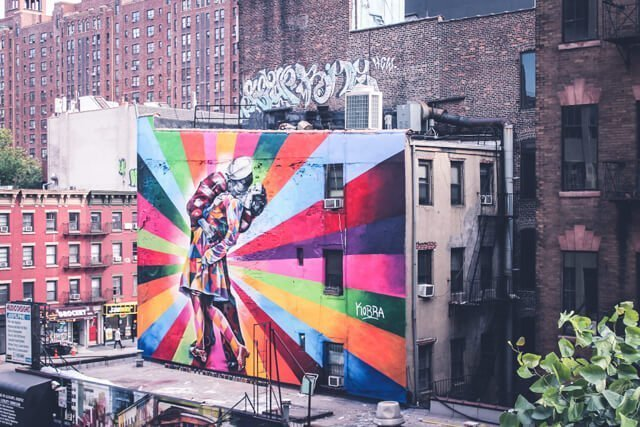 The Highline Park - Free Things to do in New York City