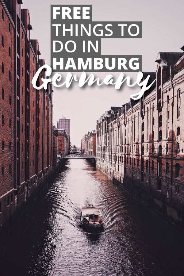 10 Picture-Perfect Free Things to do in Hamburg, Germany | Want to see the best of Hamburg but also need to do it on a budget? This is the perfect post for you! | See beautiful architecture, take a ride on the U3 Metro or explore the harbour | #Free #ThingsToDo #Hamburg #Germany #Photography #City #CwC #Trips #Hamburgo