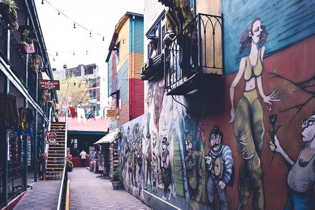 Streets of La Boca - Free Things to do in Buenos Aires, Argentina