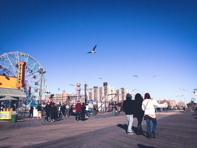 Coney Island Boardwalk - Free Things to do in New York City