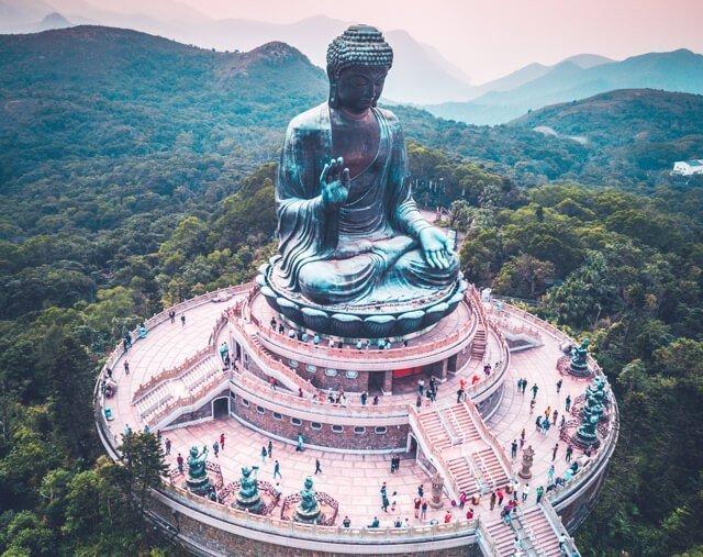 The big buddha - Free Things to do in Hong Kong