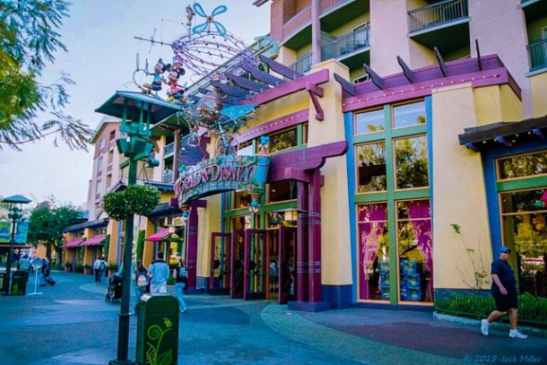 View along Downtown Disney - Free Things to do in Orange County California USA