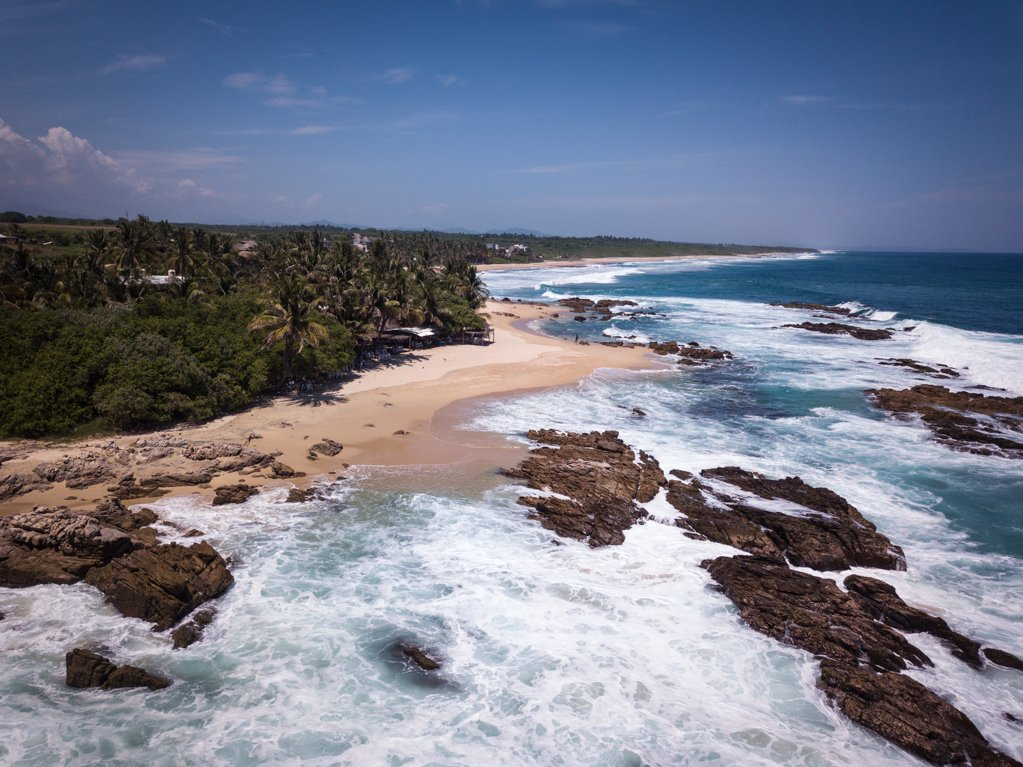 Playa Agua Blanca - travel to oaxaca mexico - things to do in oaxaca